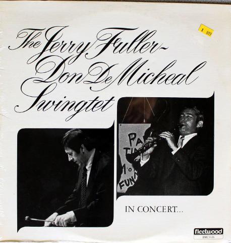 """The Jerry Fuller - Don De Micheal Swingtet Vinyl 12"""""""