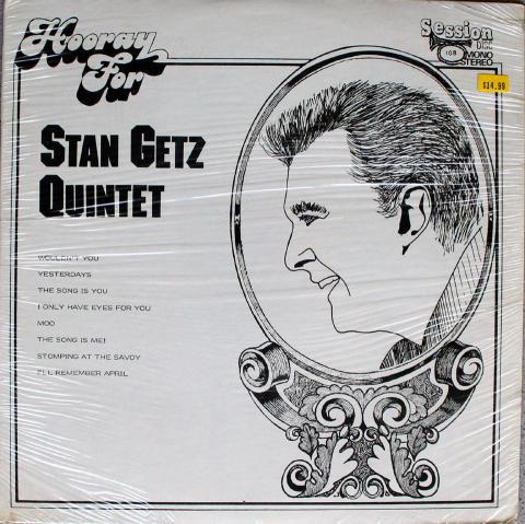 """Stan Getz Quintet Vinyl 12"""""""