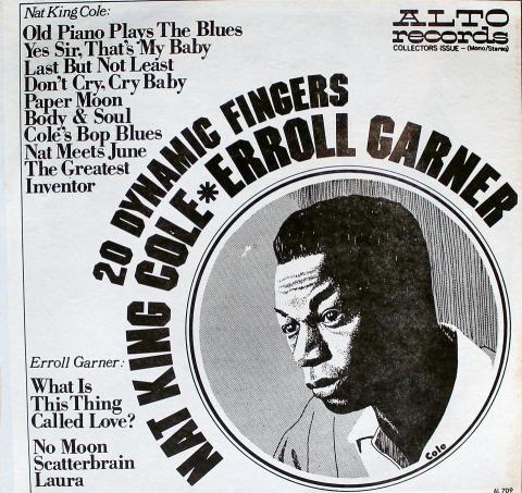 """Nat King Cole / Erroll Garner Vinyl 12"""""""