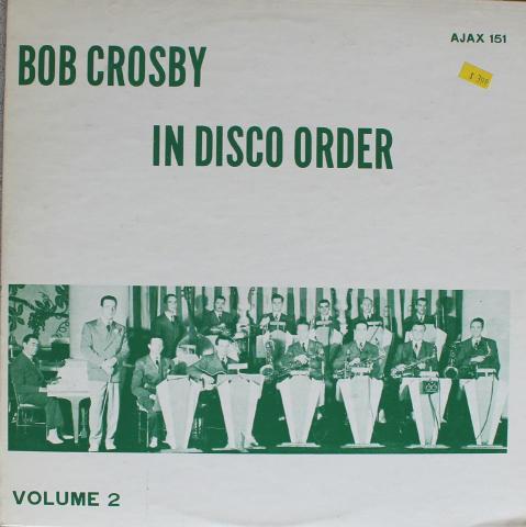 """Bob Crosby Vinyl 12"""""""