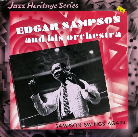 "Edgar Sampson And His Orchestra Vinyl 12"""