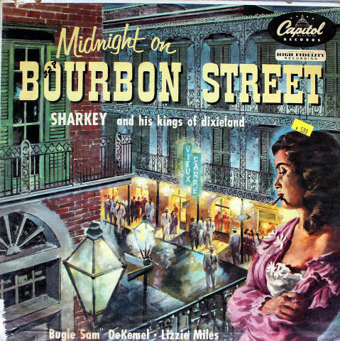 "Sharkey And His Kings Of Dixieland Vinyl 12"""