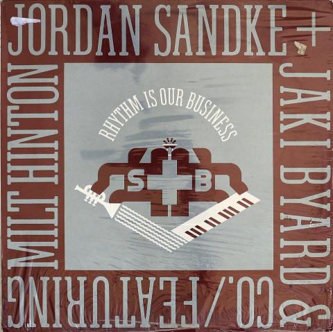 """Jordan Sandke & Jaki Byard And Co. Vinyl 12"""""""
