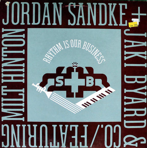 Jordan Sandke & Jaki Byard And Co. Vinyl 12""