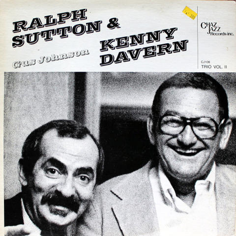 Ralph Sutton & Kenny Davern Vinyl 12""