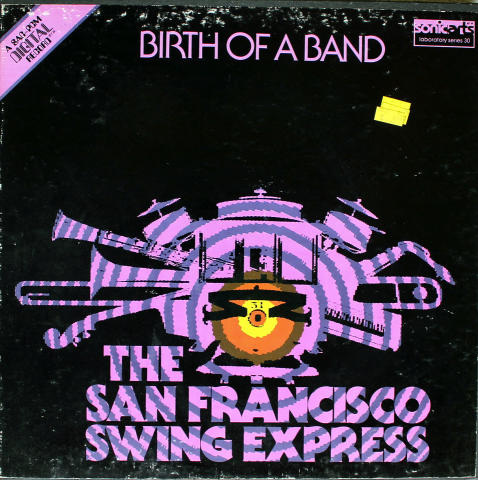 "The San Francisco Swing Express Vinyl 12"""