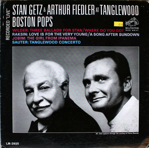 """Stan Getz & Arthur Fiedler Vinyl 12"""""""