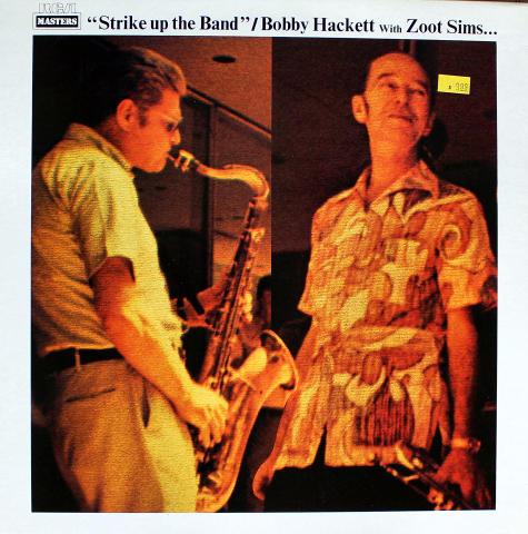 """Bobby Hackett With Zoot Sims Vinyl 12"""""""