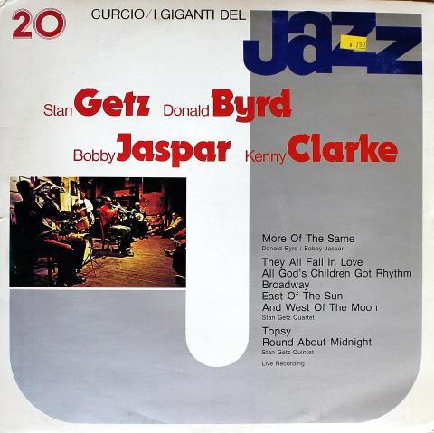 """Stan Getz / Donald Byrd / Bobby Jaspar / Kenny Clarke Vinyl 12"""""""