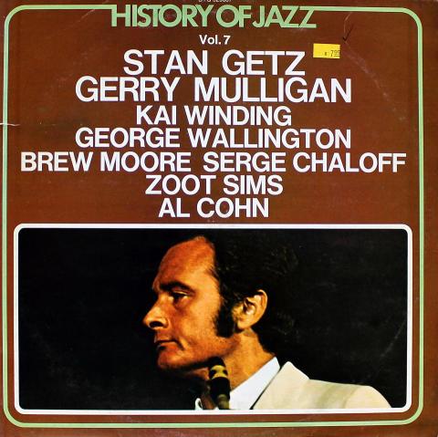 "Stan Getz / Gerry Mulligan / Kai Winding / George Wallington / Brew Moore / Serge Chaloff / Zoot Sims / Al Cohn Vinyl 12"""