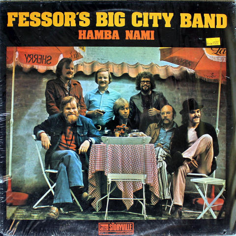 Fessor's Big City Band Vinyl 12""