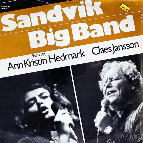 "Sandvik Big Band Vinyl 12"""