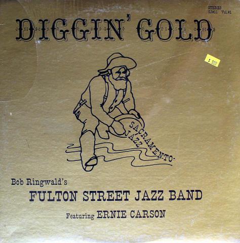 "Fulton Street Jazz Band Vinyl 12"""