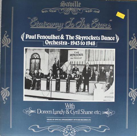 "Paul Fenoulhet & The Skyrockets Dance Orchestra Vinyl 12"""