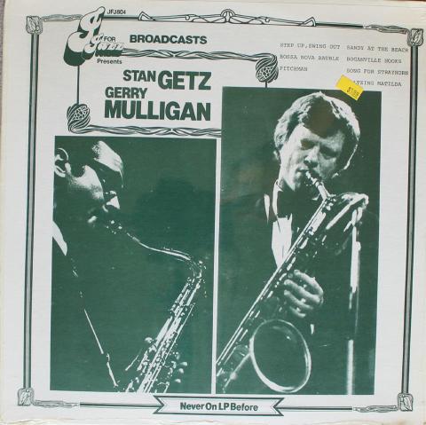"""Stan Getz / Gerry Mulligan Vinyl 12"""""""