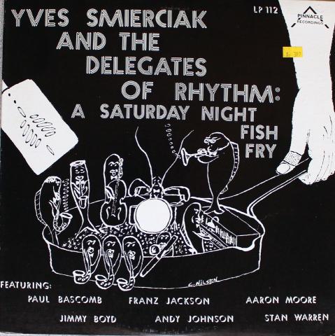 """Yves Smerciak And The Delegates Of Rhythm Vinyl 12"""""""