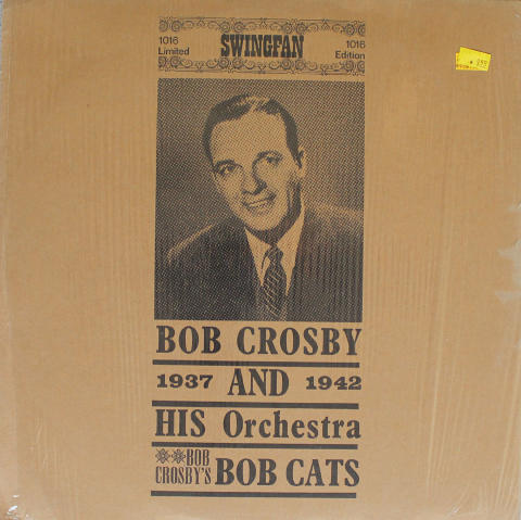 "Bob Crosby And His Orchestra Vinyl 12"""