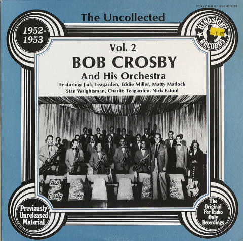 Bob Crosby And His Orchestra Vinyl 12""