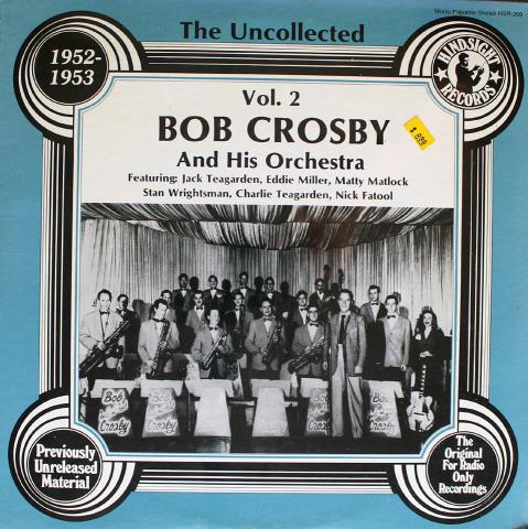"Bob Crosby And His Orchestra Vinyl 12"" (New)"