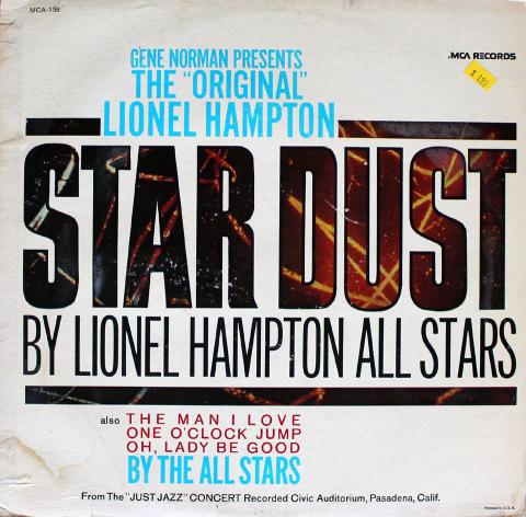 "Lionel Hampton All Stars Vinyl 12"""