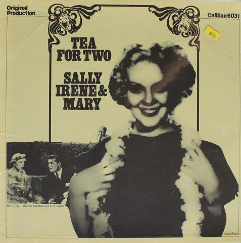 "Tea For Two / Sally Irene & Mary Vinyl 12"""