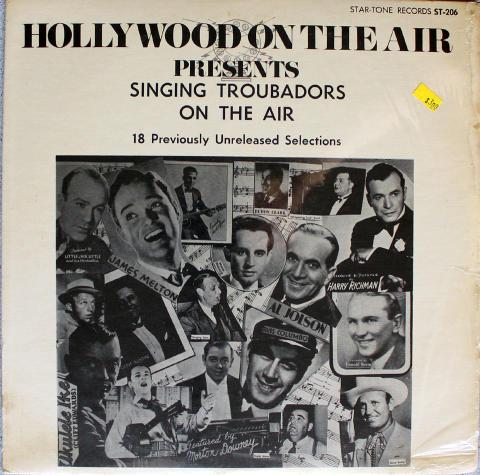 "Singing Troubadors On The Air Vinyl 12"""