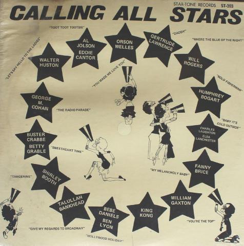 """Calling All Stars Vinyl 12"""""""