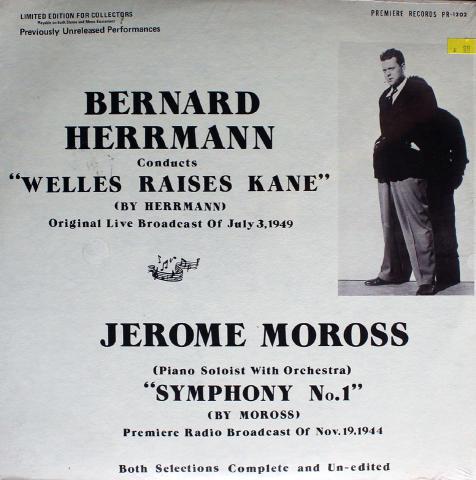 """Bernard herrmann / Jerome Moross Vinyl 12"""""""