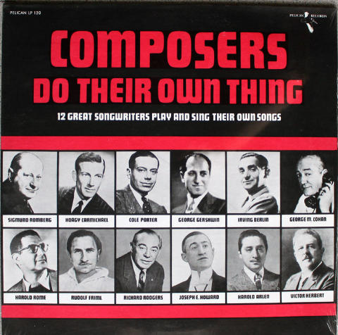"""Composers Do Their Own Thing Vinyl 12"""""""