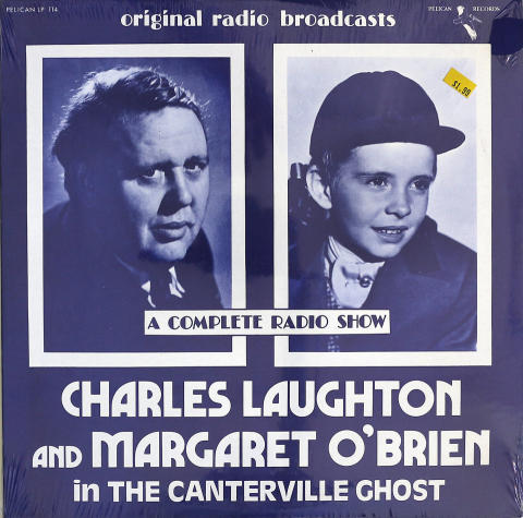 Charles Laughton And Margaret O'Brien Vinyl 12""