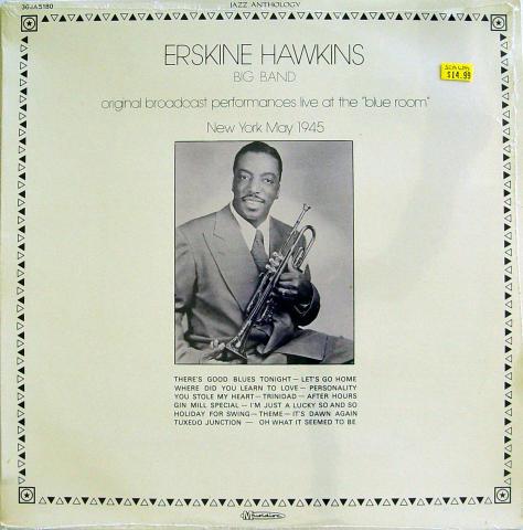 "Erskine Hawkins Big Band Vinyl 12"""