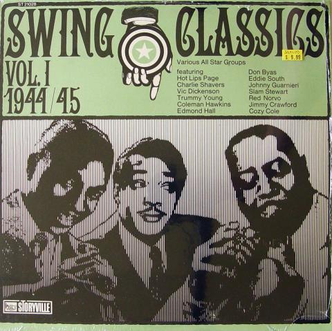 """Swing Classics Vol. 1 1944/45 Vinyl 12"""""""