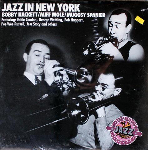 "Jazz In New York Vinyl 12"""