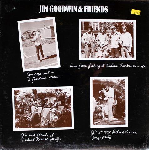"""Jim Goodwin & Friends Vinyl 12"""""""