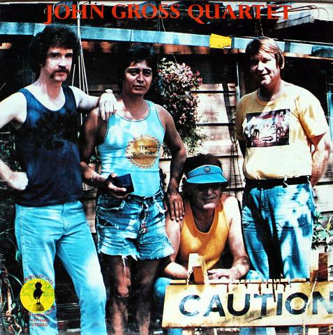 """John Gross Quartet Vinyl 12"""""""
