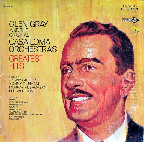 "Glen Gray and the Original Casa Loma Orchestra Vinyl 12"" (Used)"