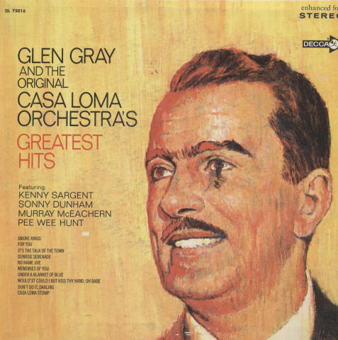 "Glen Gray and the Original Casa Loma Orchestra Vinyl 7"" (Used)"