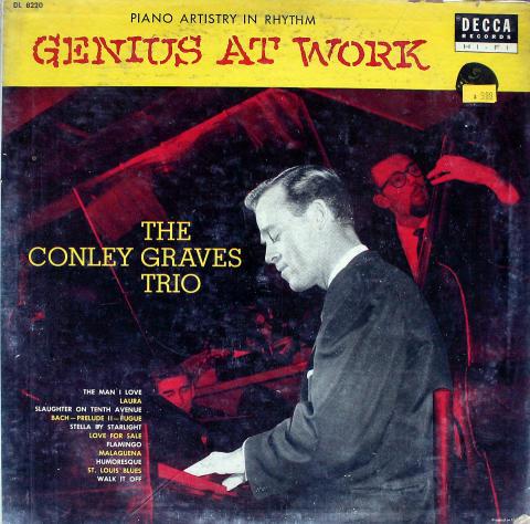 "The Conley Graves Trio Vinyl 12"""