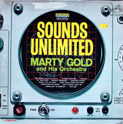 """Marty Gold And His Orchestra Vinyl 12"""""""