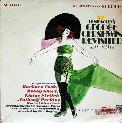 """Ben Bagley's George Gershwin Revisited Vinyl 12"""""""