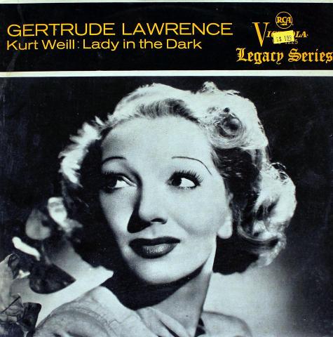 "Gertrude Lawrence Vinyl 12"""