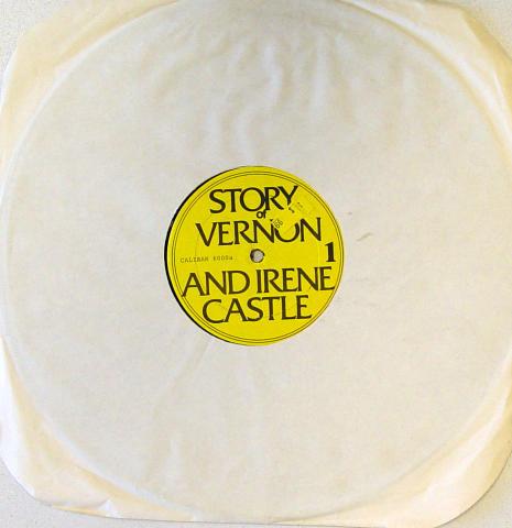 "Story Of Vernon And Irene Castle / Daddy Long Legs Vinyl 12"""