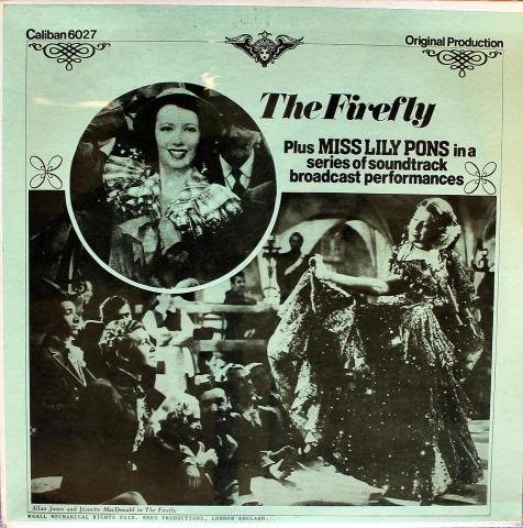 "Miss Lily Pons Vinyl 12"""