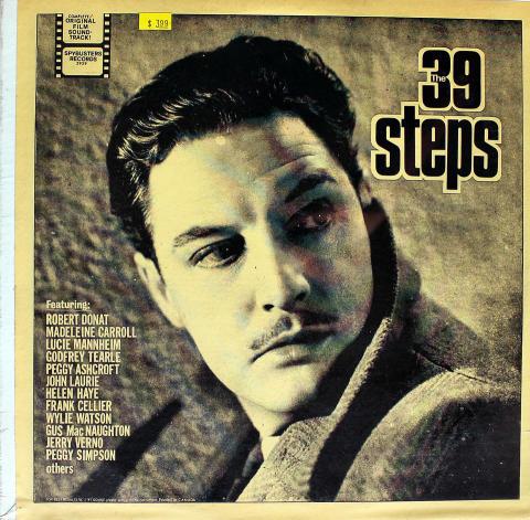 "The 39 Steps Vinyl 12"""