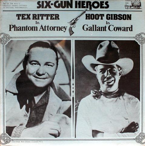 """Tex Ritter / Hoot Gibson Vinyl 12"""""""