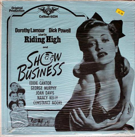"Riding High / Show Business Vinyl 12"""