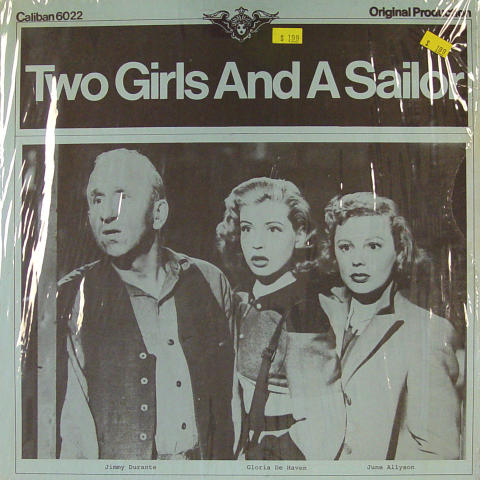 """Two Girls And A Sailor Vinyl 12"""""""