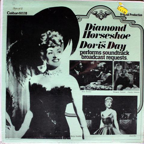 "Diamond Horseshoe / Doris Day Performs Soundtrack Broadcast Requests Vinyl 12"""