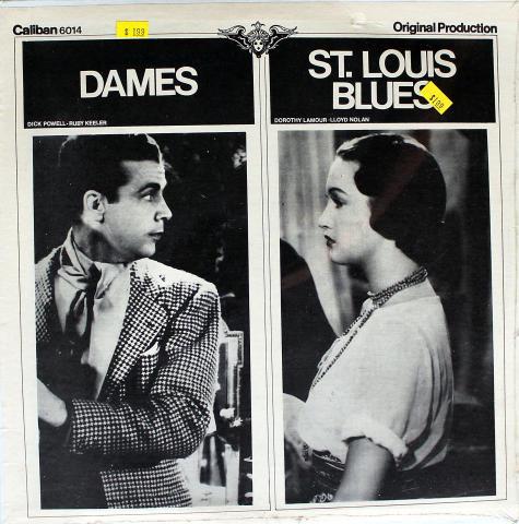 """Dames / St Louis Blues Vinyl 12"""""""