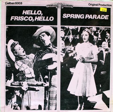 """Hello, Frisco, Hello / Spring Parade Vinyl 12"""""""